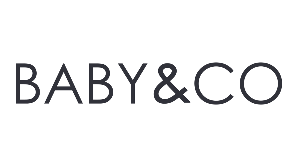 Baby & Co, logo 2020, Agence DECALE